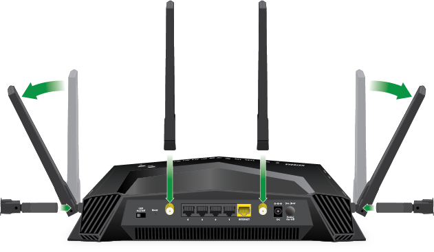 How do I set up my NETGEAR Nighthawk Gaming Router and Mesh