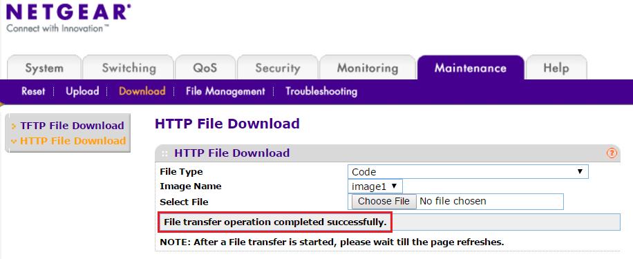 FS728TPv2 Firmware Version 5 0 2 47 | Answer | NETGEAR Support