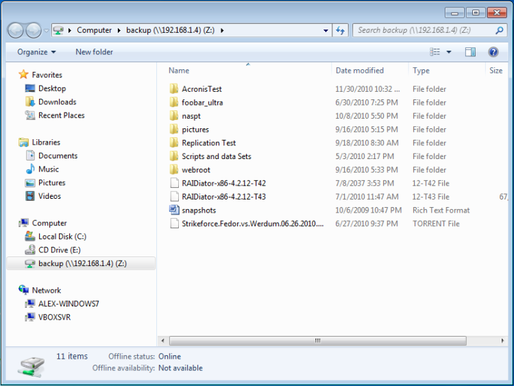 Accessing ReadyNAS OS 6 using Windows Explorer | Answer | NETGEAR