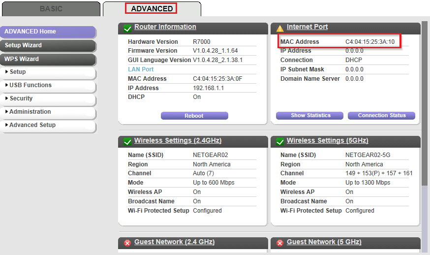 how to get to my router online netgear