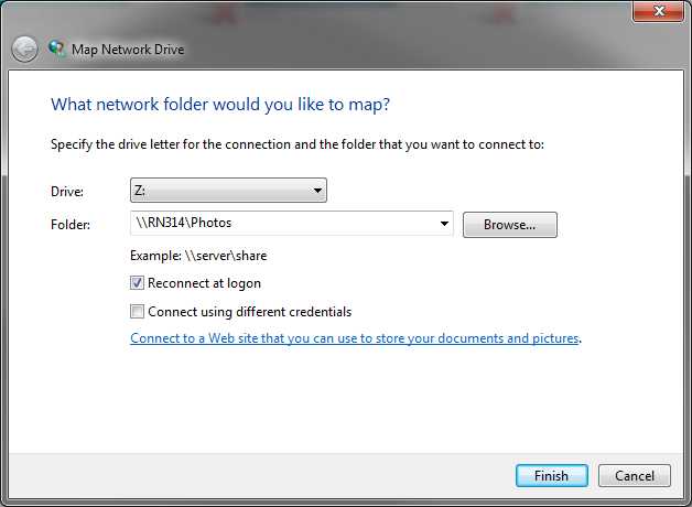 Map A Drive How do I map a network drive in Windows? | Answer | NETGEAR Support