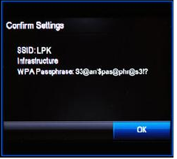 Connecting a HP OfficeJet wireless printer to a wireless