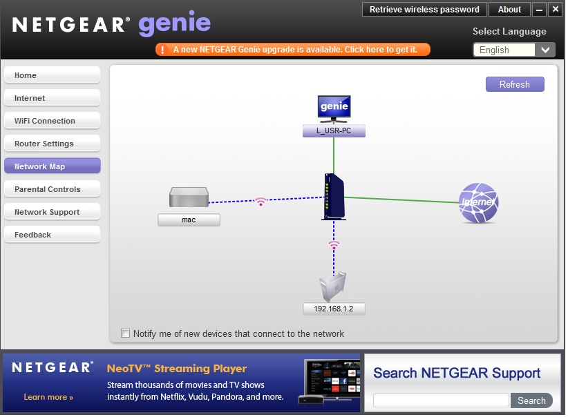 netgear genie user manual
