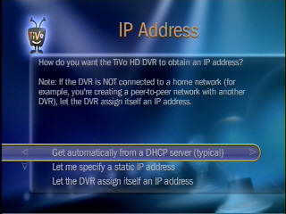 Connecting a TiVo DVR to a wireless network | Answer | NETGEAR Support