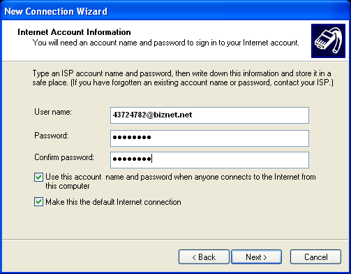 Setting up a PPPoE Connection on Windows XP | Answer | NETGEAR Support