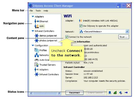 Disabling various third-party Wireless Card Utilities in