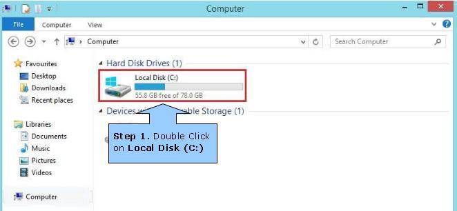 how to delete laptop on windows 8
