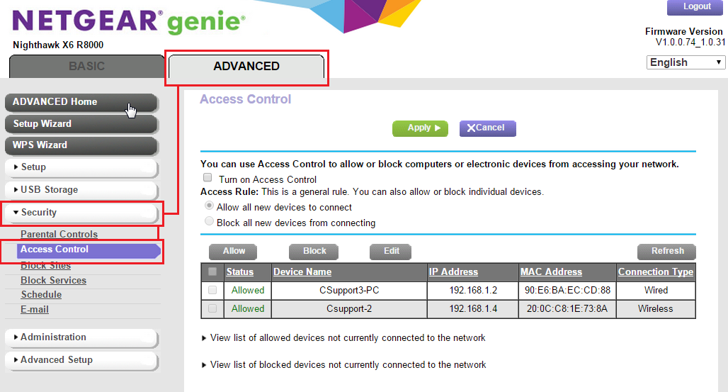 How do i configure access control or mac filtering on my router image keyboard keysfo Images