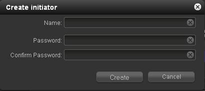 How do I configure LUN access through an iSCSI initiator on my