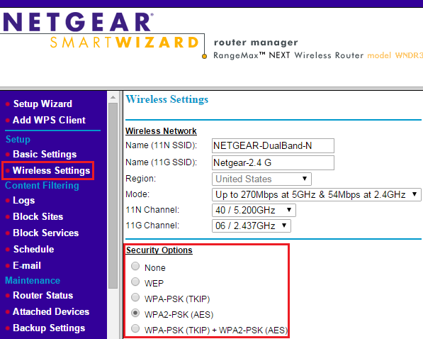 How do i secure my wireless network with the smart wizard interface image ccuart Image collections
