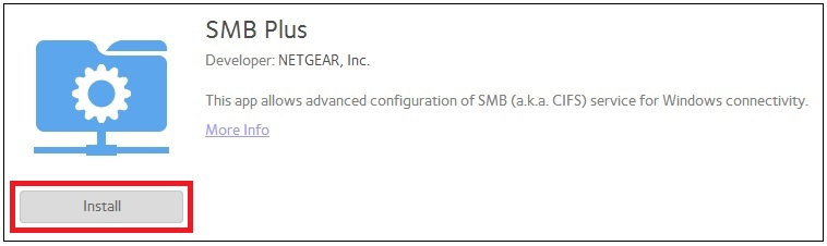 ReadyNAS OS 6: SMB Plus App | Answer | NETGEAR Support