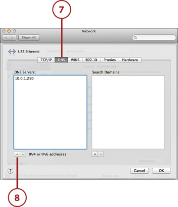Configuring TCP/IP and Proxy Settings on Mac OSX | Answer