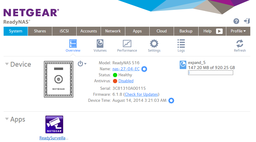 NETGEAR RN422X64E NAS Drivers Download