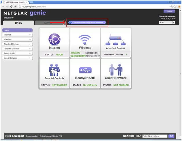 Router firmware update using the netgear genie software | answer.