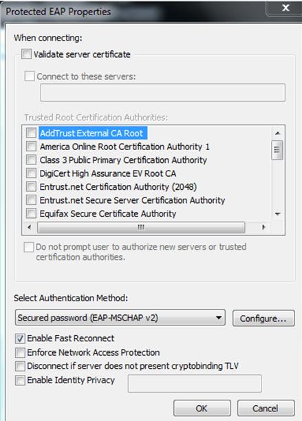 Status validating identity netgear