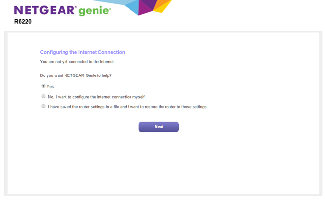 Setup and install the r6220 answer netgear support note if you do not see the genie please type routerlogin on the address bar of your web browser then type admin for the user name and password keyboard keysfo Images