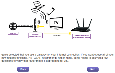 2 how do i set up netgear r7000 router with my existing internet  at bakdesigns.co
