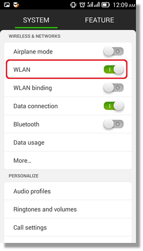 How to remove wireless profiles on android phonetablets answer from the menu select settings and go to wlan greentooth