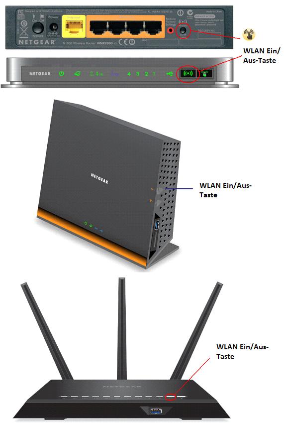 WLAN-Netzwerk über die WLAN-Taste aktivieren | Answer | NETGEAR Support
