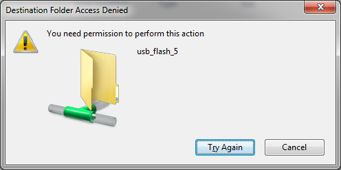 usb read only files and how to change