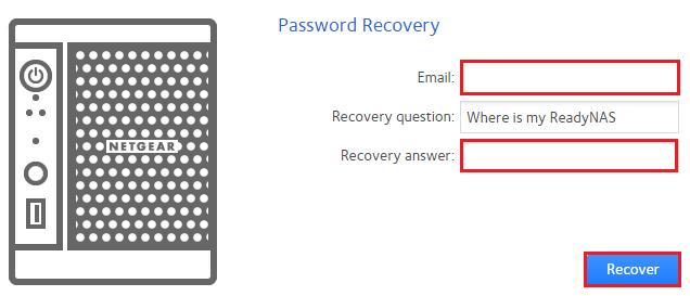 lost admin password