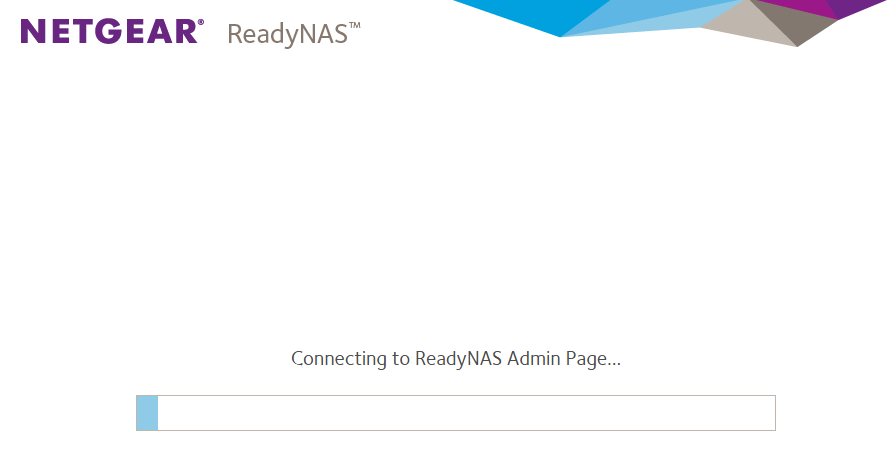 ReadyNAS Admin Page Browser Incompatibility | Answer