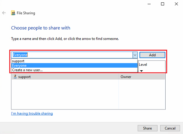 How do I back up data from a Windows (SMB) share to a