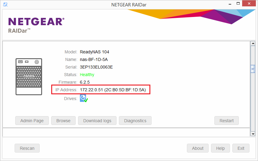 I can no longer access my ReadyNAS OS 6 storage system after