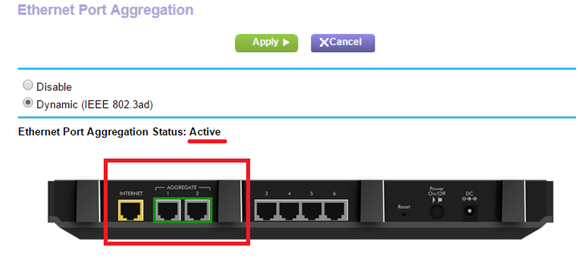 How do I enable LACP on my ReadyNAS? | Answer | NETGEAR Support