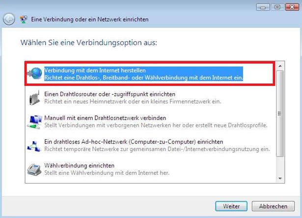 Wie Stelle Ich Auf Einem Windows Vista Pc Eine Verbindung Zu Dem