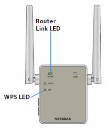 EX6000 / EX6120 / EX6150 initial installation using WPS