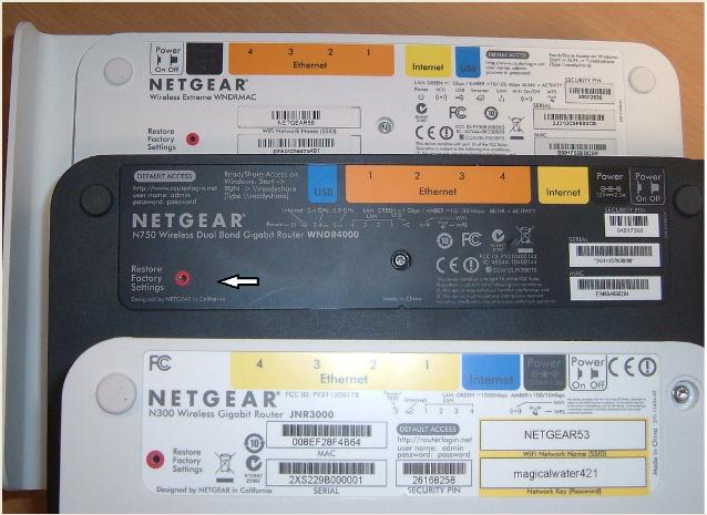 Restaurer un routeur NETGEAR aux paramètres d'usine  | Answer