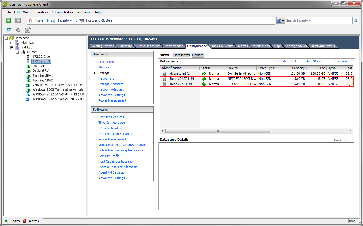 ReadyDATA to ReadyNAS iSCSI Migration (VMware) | Answer | NETGEAR