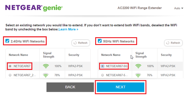 How to configure your NETGEAR Range Extender EX7300 using the