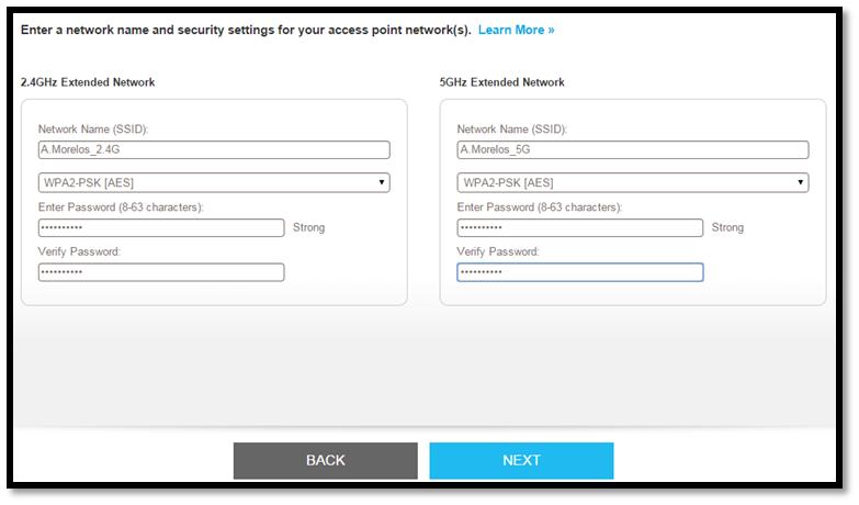 Install the EX6400 as an Access Point | Answer | NETGEAR Support