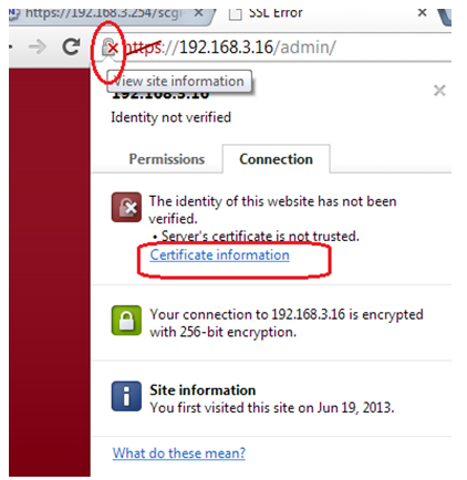 Installing a Certificate on Google Chrome for ReadyNAS OS 6 | Answer ...