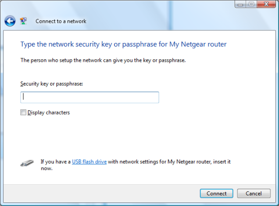 Entry: Security key or passphrase