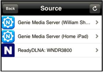 Using My Media in the NETGEAR genie Mobile App | Answer | NETGEAR