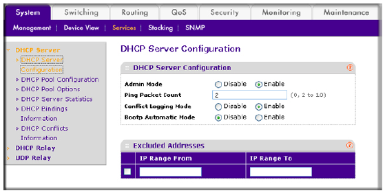 How do I configure a Dynamic Host Configuration Protocol (DHCP ...
