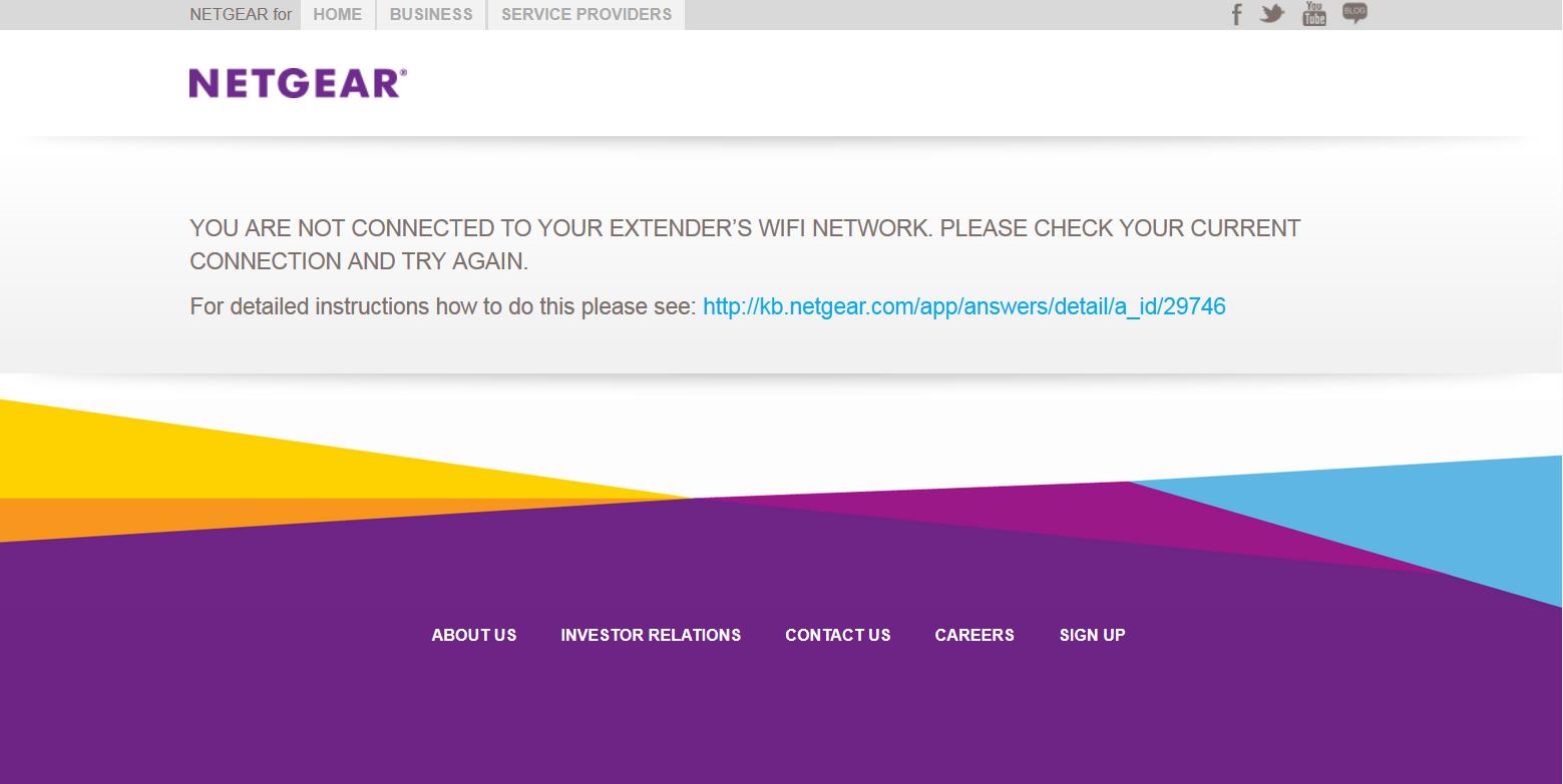 I can't access www mywifiext net