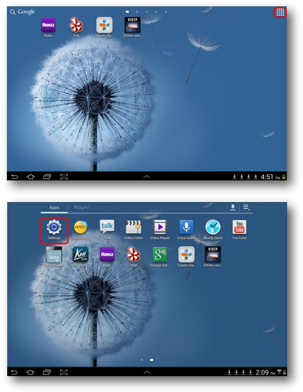 How to connect Samsung Galaxy Note and Tab 10.1 to PTV3000? | Answer ...