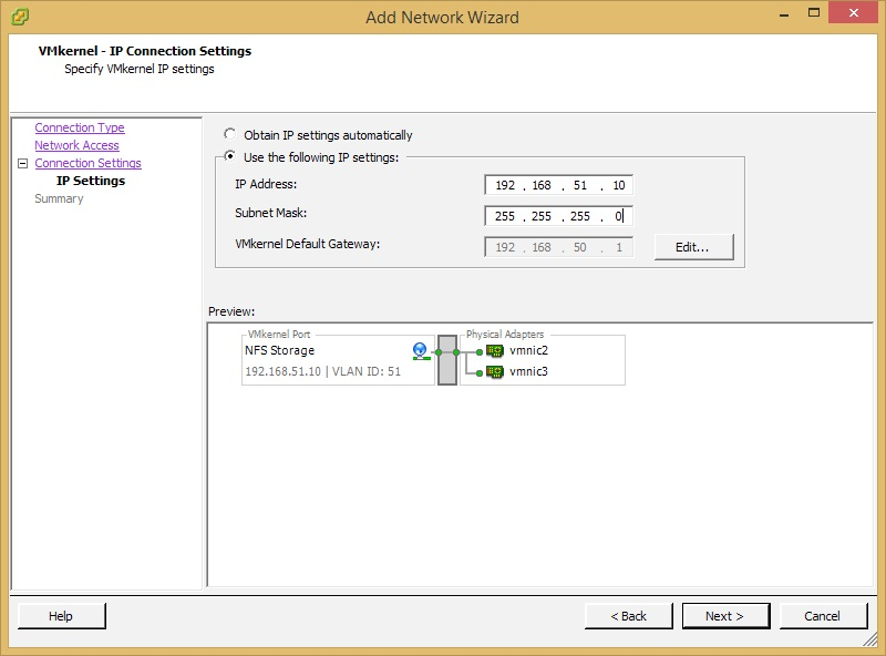Configuring ReadyDATA for VMware ESXi Using NFS | Answer | NETGEAR