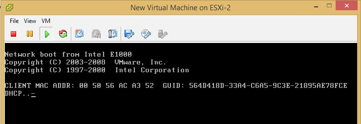 Configuring ReadyDATA for VMware ESXi Using NFS | Answer