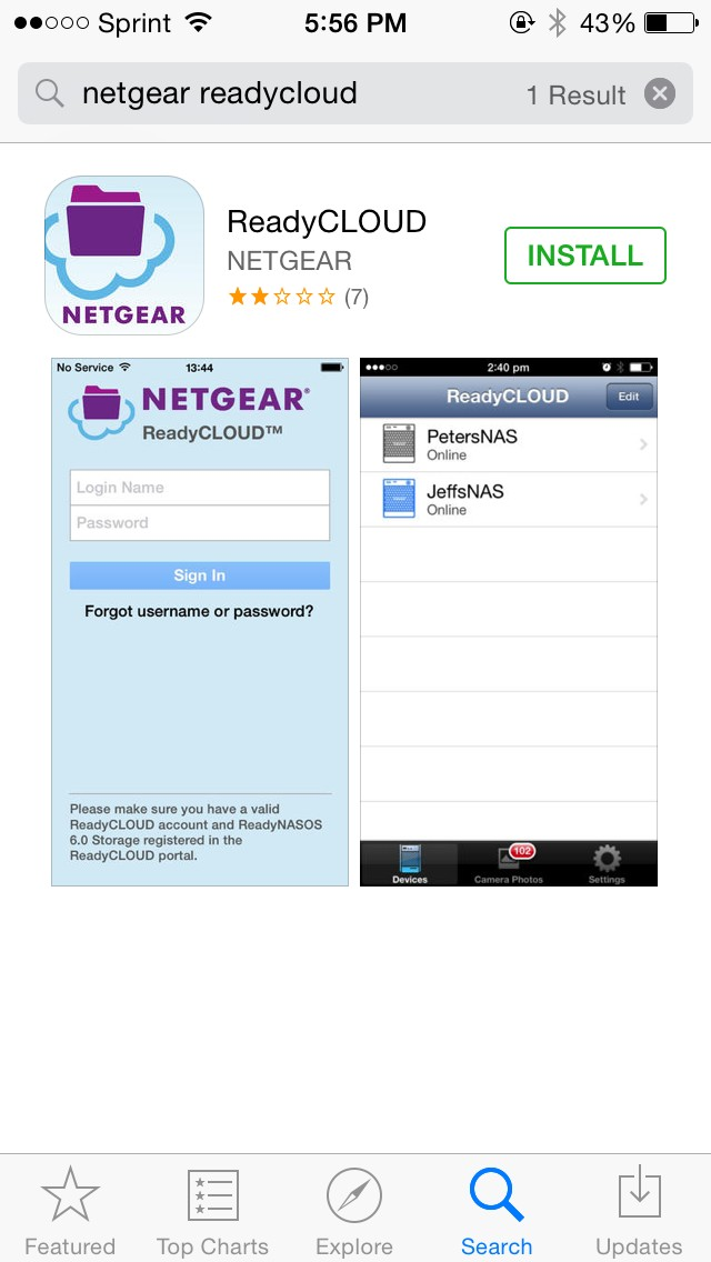 How do I use ReadyCLOUD to remotely access my NETGEAR router