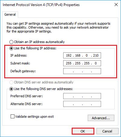 network bridge doesnt have a valid ip configuration windows 10