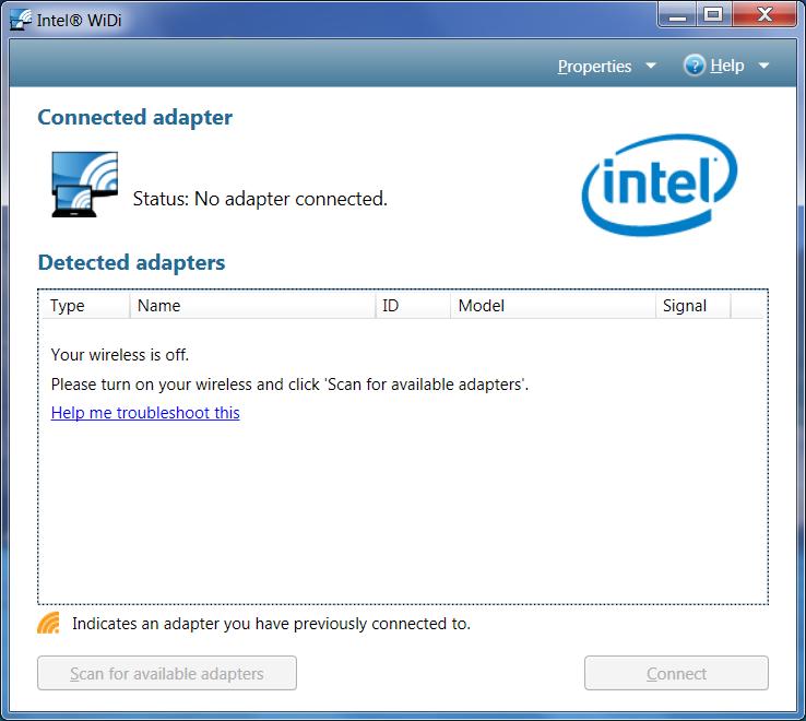 Intel widi 6. 0 download (free) widiapp. Exe.