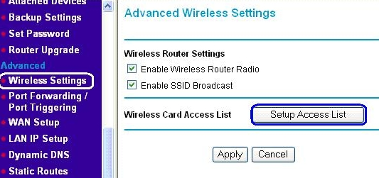 how to put a password on wifi netgear