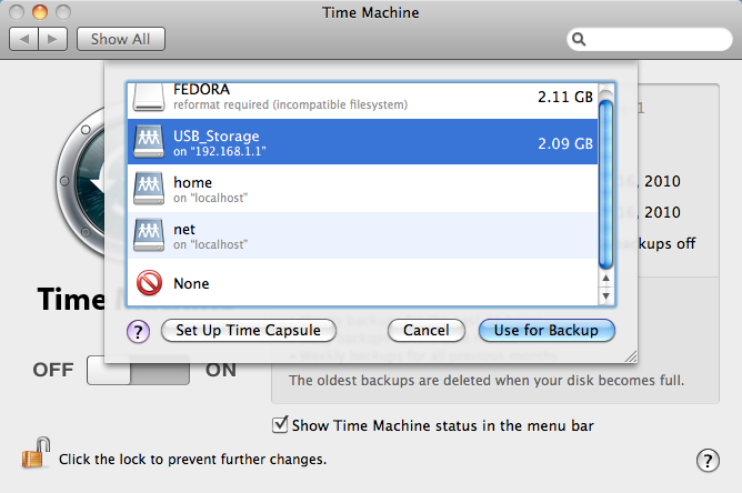 How to setup Time Machine with your NETGEAR router | Answer