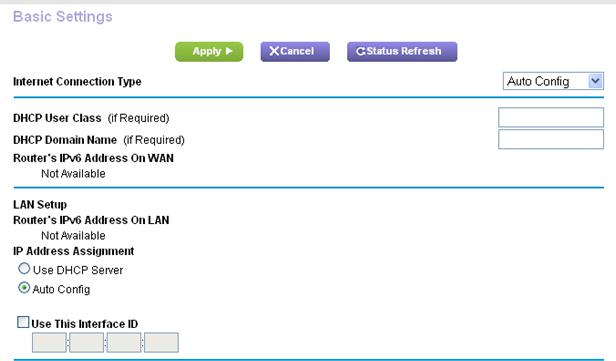 How Do I Use Auto Configuration To Set Up An Ipv6 Internet