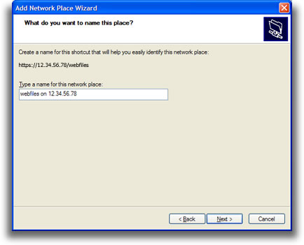 ReadyNAS OS 6: Configure WebDAV Access from Windows XP